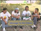Message To The Elders